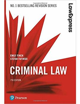 Law Express: Criminal Law by Amazon