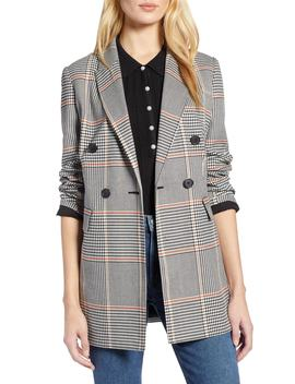 X Atlantic Pacific Menswear Plaid Blazer by Halogen®