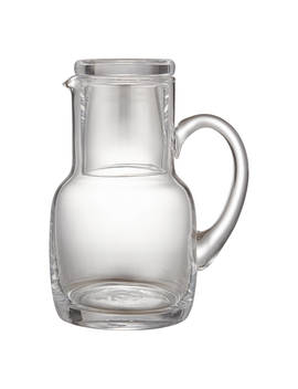 John Lewis & Partners Serve Glass 800ml Carafe And Tumbler, Clear by John Lewis & Partners