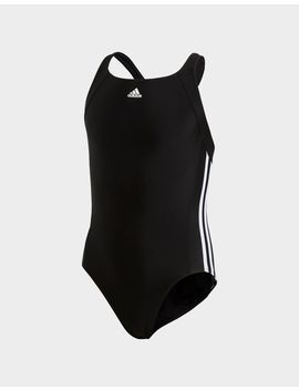 Adidas Essence Core 3 Stripes Swim Suit Youth by Adidas