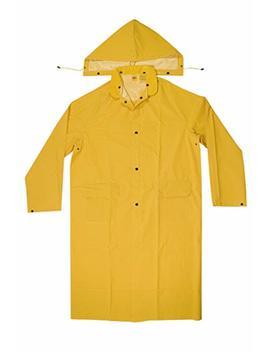 Clc Custom Leathercraft Rain Wear R105 M .35 Mm Pvc Trench Coat   Medium by Custom Leathercraft