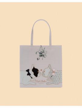 Large Mistletoe Icon Shopper Bag by Ted Baker
