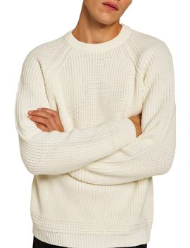 Ribbed Sweater by Topman