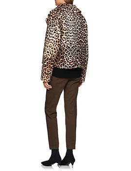 Grant Leopard Print Shearling Jacket by A.L.C.