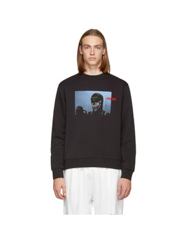 Black Hooligan Sweatshirt by Vier