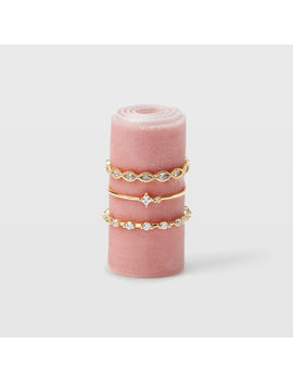 Serefina Stacking Ring Set by Club Monaco