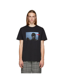 Black Hooligan T Shirt by Vier