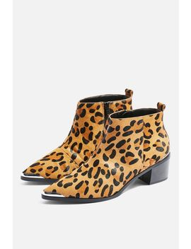 Miles Low Ankle Platform Boots by Topshop