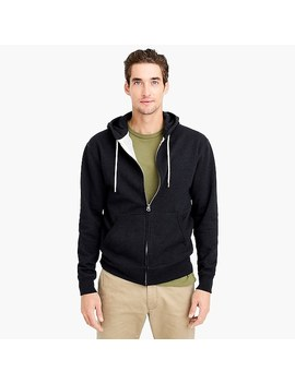 Brushed Fleece Full Zip Sweatshirt by J.Crew