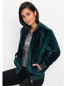 Quilted Velvet Jacket by Venus