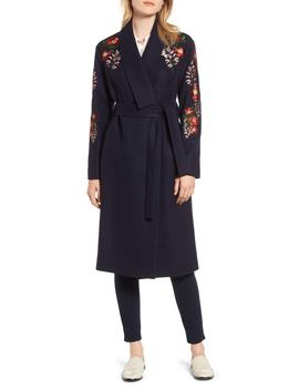Embroidered Coat by Ted Baker London