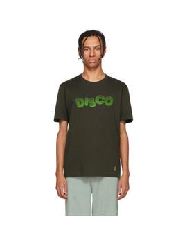 Grey 'disco' Standard T Shirt by Wacko Maria