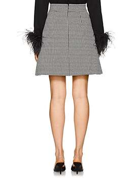 Houndstooth A Line Skirt by Barneys New York