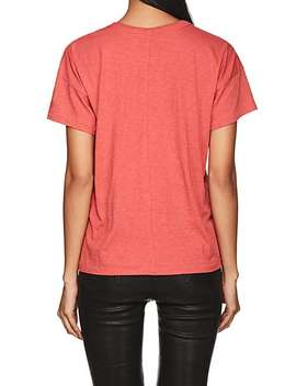 Crown Embroidered Cotton T Shirt by Rag & Bone