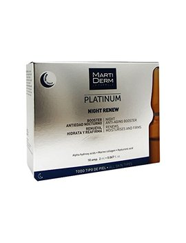 Martiderm Platinum Night Renew Ampoules 10ampx2ml by Martiderm