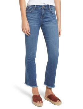 High Waist Crop Flare Jeans by Prosperity Denim