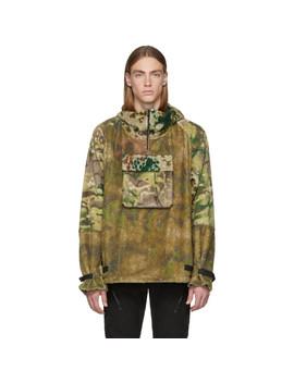 Multicolor Camo Hernik Pullover Jacket by 1017 Alyx 9 Sm