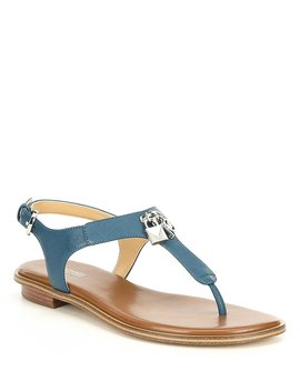 Suki Leather Sandals by Michael Michael Kors