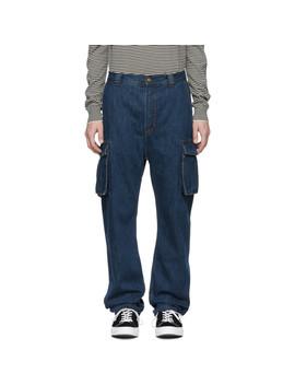 Blue Blå Konst Garco Natural Jeans by Acne Studios