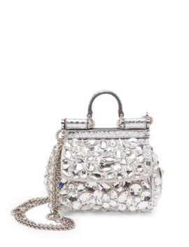Mini Crystal Crossbody Bag by Dolce & Gabbana