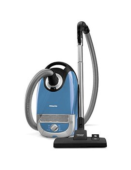 Miele Complete C2 Hard Floor Canister Vacuum Cleaner With Sbd285 3 Combination Rug And Floor Tool + Sbb400 3 Parquet Twister Xl Floor Brush   Tech Blue by Miele Inc.