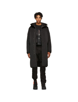 Black Arctic Puffer Jacket by 1017 Alyx 9 Sm