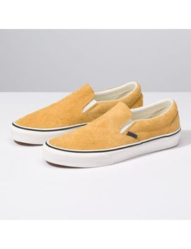 Hairy Suede Classic Slip On by Vans