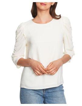 Ruched Sleeve Top by 1.State