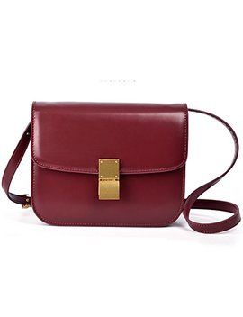 Macton Messenger Bag Genuine Leather Women Crossbody Bag Mc 5081 by Yes Macton