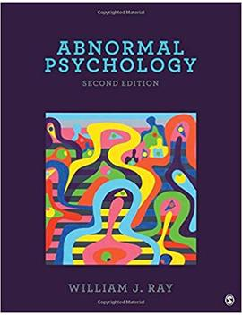 Abnormal Psychology by William J. Ray
