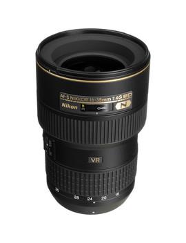 Af S Nikkor 16 35mm F/4 G Ed Vr Lens by Nikon