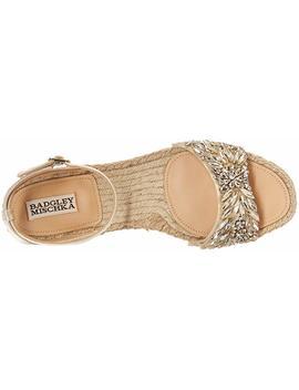 Badgley Mischka Women's Satine Flat Sandal by Badgley+Mischka