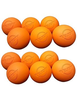 Velocity 12 Pack Lacrosse Balls For Adults & Kids: Official Size For Professional, College & High School. Nocsae, Ncaa, Nfhs Certified. Colors: Yellow, Orange & White. by Velocity