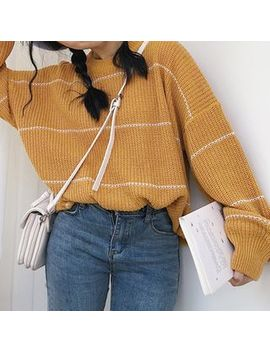 Enoa   Striped Sweater by Enoa