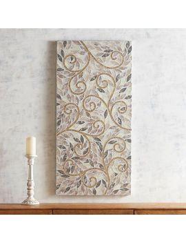 Golden Swirls Mosaic Wall Panel by Pier1 Imports