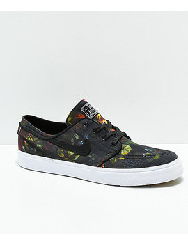 Nike Sb Janoski Floral Canvas Shoes by Nike Sb