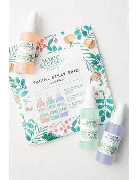 Mario Badescu Travel Edition Facial Spray Trio by Mario Badescu