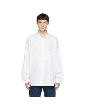 White Blå Konst Gianni Shirt by Acne Studios