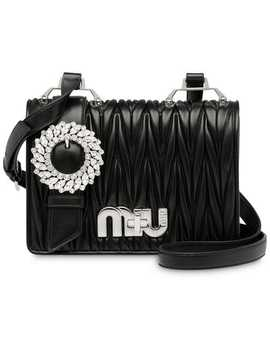 Matelassé Satchel Bag by Miu Miu