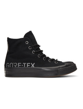 Black Gore Tex© Edition Chuck 70 High Sneakers by Converse