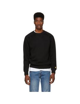 Black Chase Sweatshirt by Carhartt Work In Progress