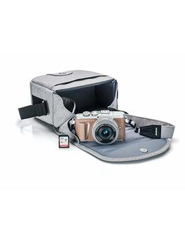 Olympus Pen E Pl9 Kit With 14 42mm Ez Lens, Camera Bag, And Memory Card, Honey Brown by Olympus