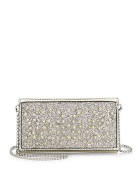 Glitter Chain Wallet by Christian Louboutin