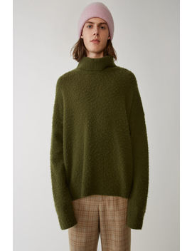 Oversized Turtleneck Hunter Green by Acne Studios