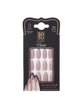 False Nails Stiletto Nudist by Sosu By Suzanne Jackson