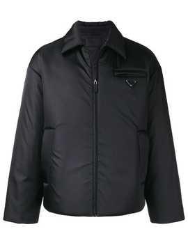 Classic Padded Jacket by Prada