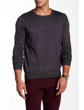 Crew Neck Solid Sweater by Yoki