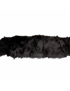 Expo International 4in Faux Fox Fur Trim Black by Expo International
