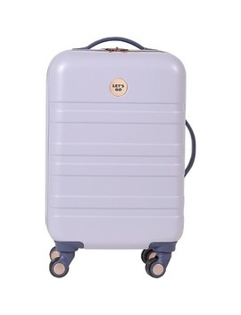 "Design Love Fest 20"" Hardside Carry On Suitcase   Lavender by Designlovefest"