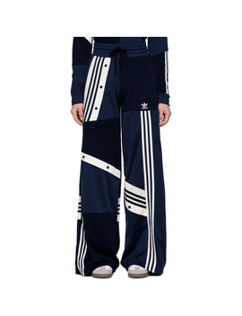 Blue Deconstructed Lounge Pants by Adidas Originals By DaniËlle Cathari